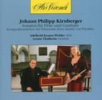 Kirnberger: Sonaten für Flöte und Cembalo