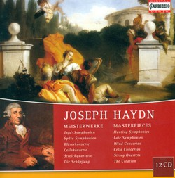 Haydn, F.J.: Symphonies / Concertos / String Quartets / The Creation (Masterpieces)