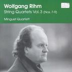 Rihm, W.: String Quartets, Vol. 3  - Nos. 7,