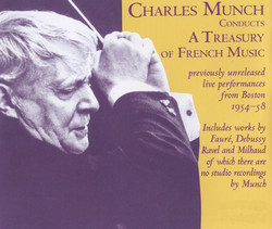 Munch conducts a Treasury of French Music