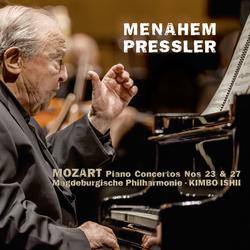 Mozart: Piano Concertos No. 23 & No. 27