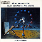 Allan Pettersson - Seven Sonatas for Two Violins