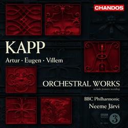 Kapp, A.: Don Carlos / Kapp, E.: Kalevipoeg Suite / Kapp, V.: Symphony No. 2