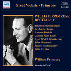 Primrose: Recital, Vol. 1