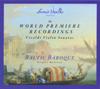 The World Premiere Recordings: Vivaldi Violin Sonatas