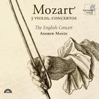 Mozart: 3 Violin Concertos
