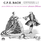 C.P.E.Bach: Symphonies 1-4, Cello Concerto in A
