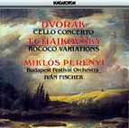 Dvorak: Cello Concerto / Tchaikovsky: Variations On A Rococo Theme, Op. 33
