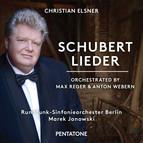 Schubert: Lieder (Orch. by Max Reger & Anton Webern)