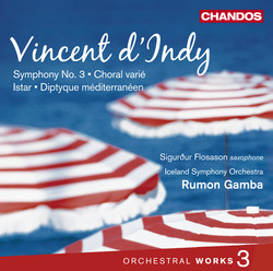 D´Indy: Orchestral Works, Vol. 3