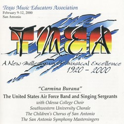 2000 Texas Music Educators Association:
