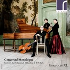 Conversed Monlogue: Concerti by J.G. Graun, J.-M. Leclair & W.F. Bach