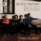 Arensky: String Quartets Nos. 1 & 2 - Piano Quintet