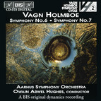 Holmboe - Symphonies No.6 & 7