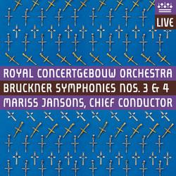 Bruckner: Symphonies Nos. 3 & 4 (Live)