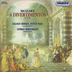 Mozart: Divertimentos in B-Flat Major No. 1, No. 2, No. 3 and No. 5