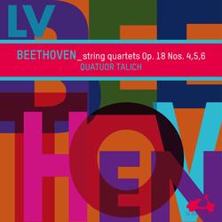 Beethoven: String Quartets Op. 18 Nos. 4, 5, 6