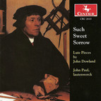 Dowland, J.: Lute Music