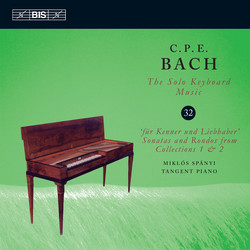C.P.E.Bach – Solo Keyboard Music, Vol. 32