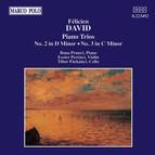 David: Piano Trios Nos. 2 and 3