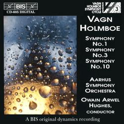 Holmboe - Symphonies No.3, 1 & 10