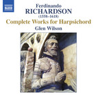 Richardson: Complete Works for Harpsichord
