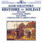 Stravinsky: Historie du Soldat - Renard - 3 Japanese Lyrics