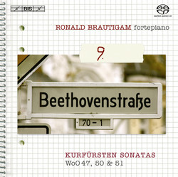 Beethoven  Complete works for solo piano, Vol.9