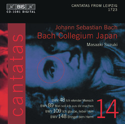 J.S. Bach - Cantatas, Vol.14 (BWV 148, 48, 89, 109)