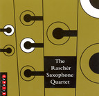 Bergman: Etwas Rascher / Dunser: 5 Pieces for Saxophone Quartet / Xenakis: Xas / Denhoff: Pnoxoud
