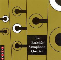 Bergman: Etwas Rascher / Dunser: 5 Pieces for Saxophone Quartet / Xenakis: Xas / Denhoff: Pnoxoud