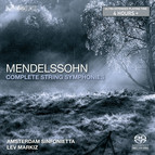 Mendelssohn – The Complete String Symphonies