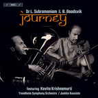 Journey – music for Indian violin & tuba
