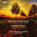 Brahms: Piano Quartet in G Minor (Orch. A. Schoenberg) - Parry: Elegy for Brahms