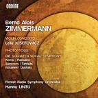 Zimmermann: Violin Concerto, Photoptosis, Die Soldaten Vocal Symphony