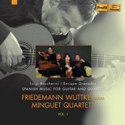 Spanish Music for Guitar and Quartet, Vol. 1