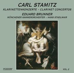 Stamitz: Clarinet Concertos, Vol. 2