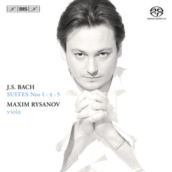 Bach Suites – Maxim Rysanov