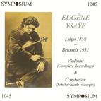 Eugene Ysaye (1912-1919)