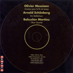 Messiaen: Quartet for the End of Time / Martinu: Oboe Quartet / Schoenberg: Ein Stelldichein