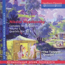 Myaskovsky: Complete String Quartets, Vol. 5: Nos. 12 & 13