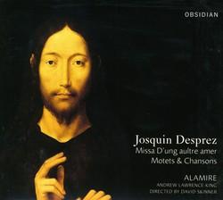 Josquin Des Prez: Missa D'Ung Aulre Amer / Motets / Chansons