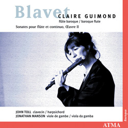 Blavet: 6 Flute Sonatas, Op. 2
