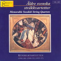 Äldre Svenska Stråkkvartetter Vol. 3