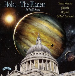 Holst: The Planets & St. Paul's Suite (Arr. for Organ)