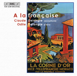 A la française - Music for saxophone and piano
