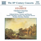 Stamitz, C.: Clarinet Concertos, Vol.  1