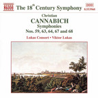 Cannabich: Symphonies Nos. 59, 63, 64, 67 and 68