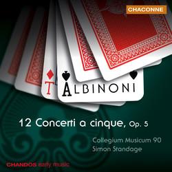 Albinoni: 12 Concertos, Op. 5