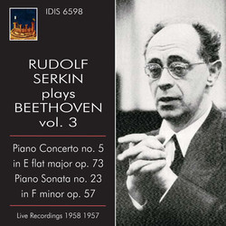 Rudolf Serkin plays Beethoven, Vol. 3 (1957-1958)